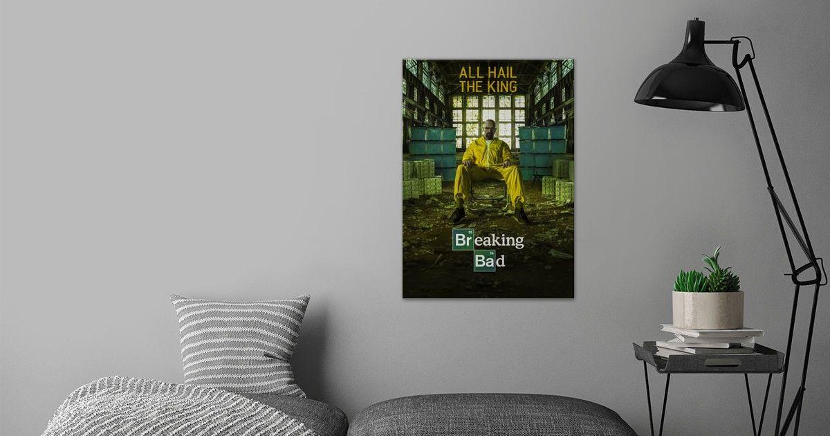 'Breaking Bad' Poster Print by Panda | Displate